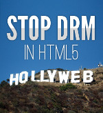 Stop DRM in HTML5